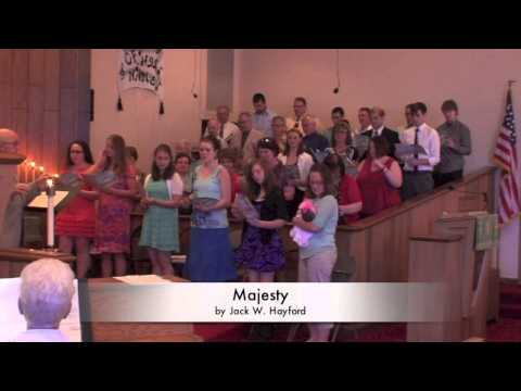 Donley Family Choir 2013