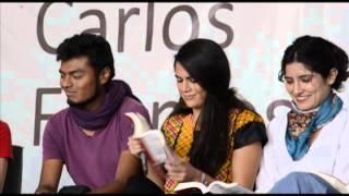 """Lectura de """"La noche de tlatelolco"""" con Elena Poniatowska y miembros de #Yosoy132"""