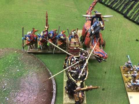 531 Buckeye Battles game 1 - Undying Dynasties vs Saurian Ancients