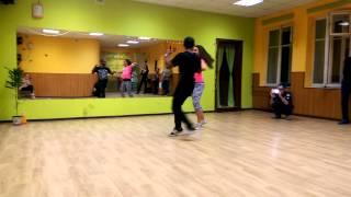 William Dos Santos & Oksana Andreeva zouk class