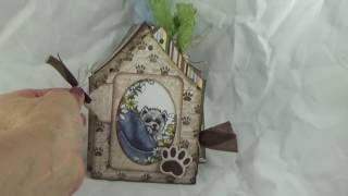 Heartfelt Creations Pampered Pooch Dog house