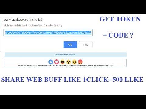 hướng dẫn lấy mã token - hack like facebook - BSN MMO GAMING   Hướng Dẫn Lấy Token Bằng Code NoCheckPoint & Share Web Buff Like Max Bá ✔