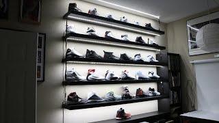 My Sneaker Display is LIT!