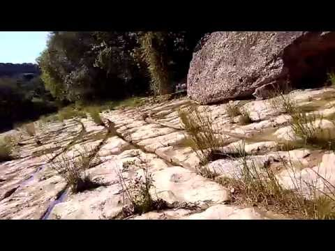 Bull Creek Austin Texas Ancient Vehicle Tracks