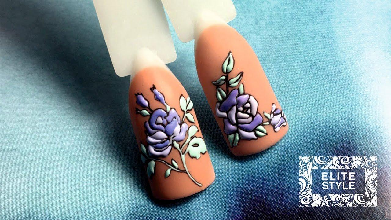 SWEET BLOOM Цветы со слайдерами NailArt Elite-Style