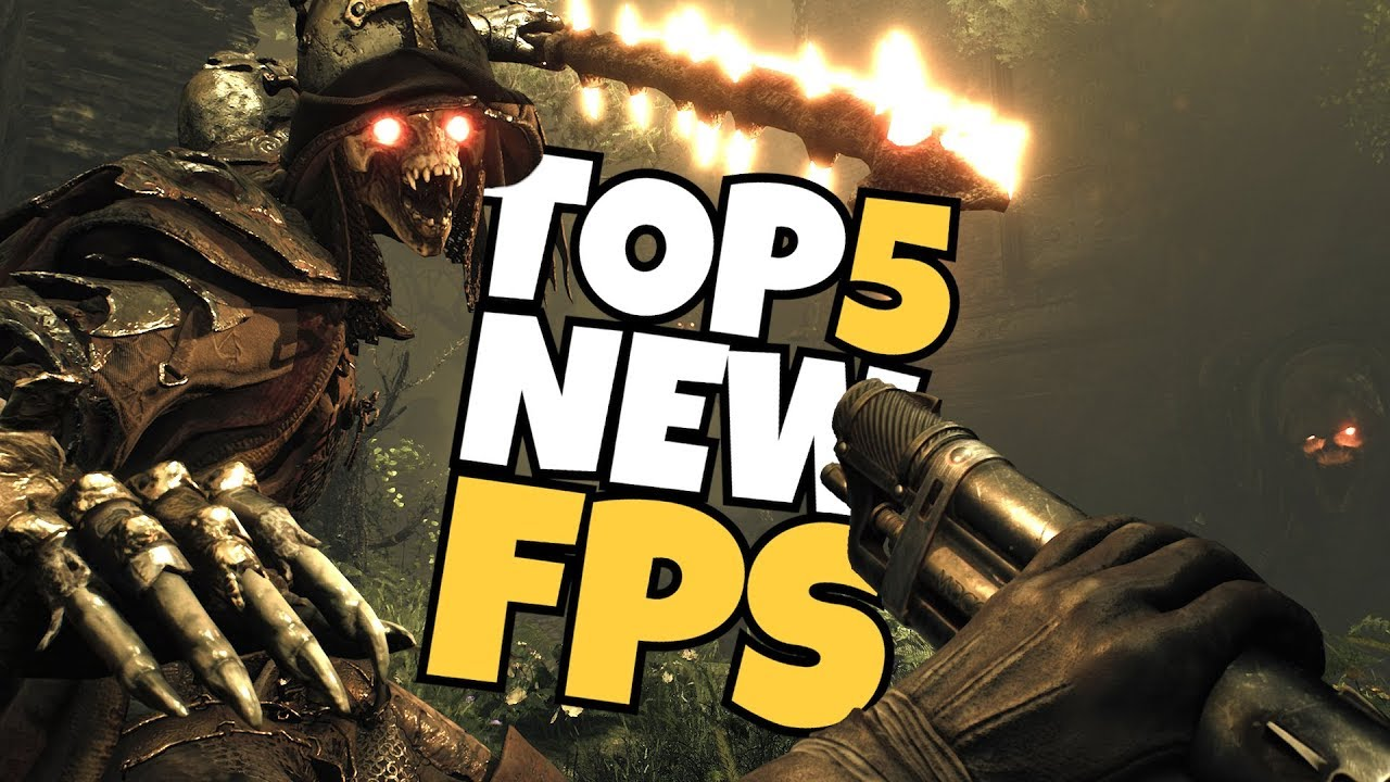 Top 5 New Fps Games Coming In 2018 Youtube