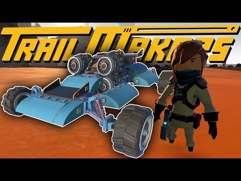Trailmakers - The Final Expedition! - Jets, Aerodynamics & Wings! - Trailmakers Alpha Gameplay