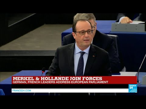 REPLAY - Watch French President François Hollande full address to European Parliament