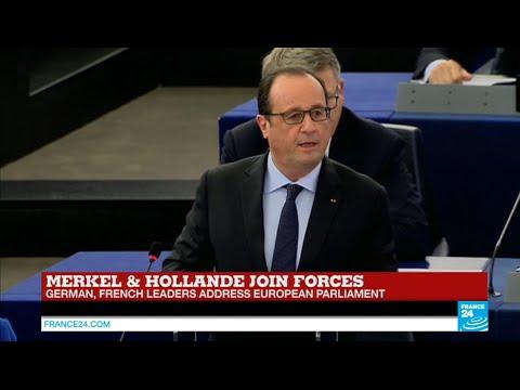 فرانس 24: REPLAY - Watch French President François Hollande full address to European Parliament