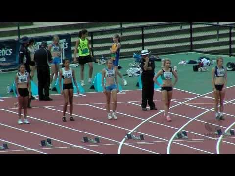 2011 Vic Youth Champs. Women U16 100m