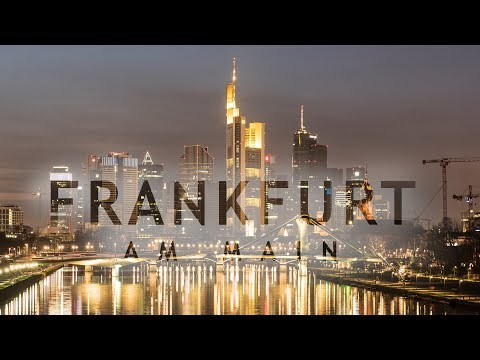 Travel Frankfurt in a Minute - Drone Aerial Video - Expedia