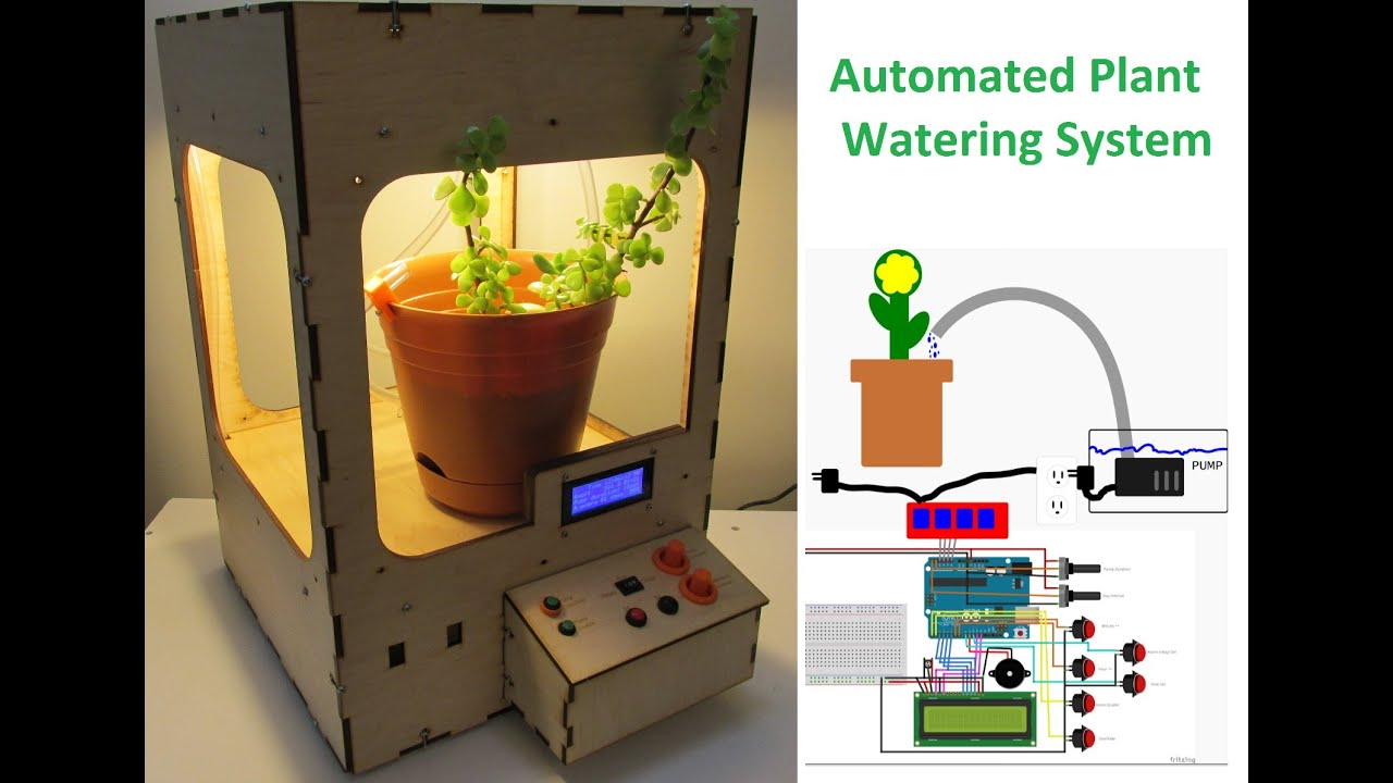 Watering system without the use of special containers 87