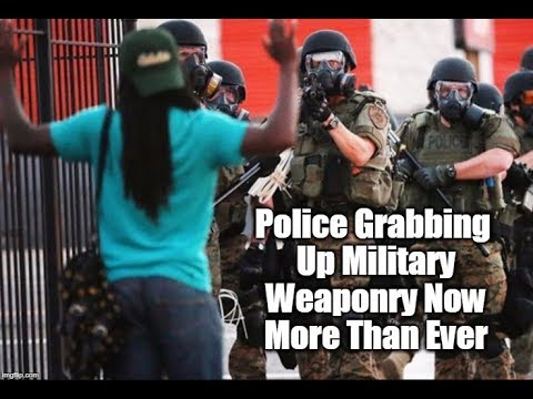 Police Given Military Weaponry To Protect Threats To the 1%