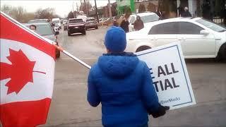 Toronto Freedom Protest | Adamson BBQ | Nov 25, 2020