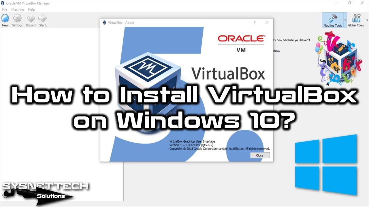 oracle vm virtualbox extension pack 5.2