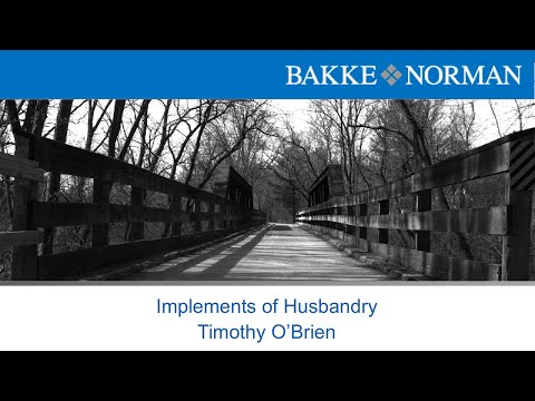 Municipal Law Seminar - Implements of Husbandry