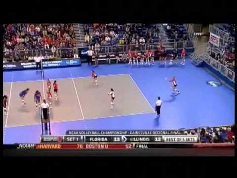 Illinois vs Florida Volleyball 2011 Set 1