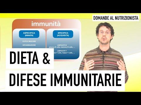 Dieta e difese immunitarie