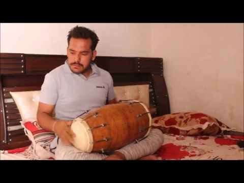Best dholak by sameer  II  new video  II amazing dholak player  II musical instrument dholak