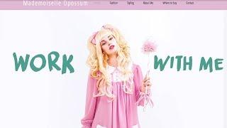 Work with me I Meine eigene neue DIY-Website