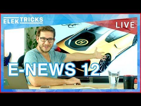 E-News #12 Shell übernimmt NewMotion, Autobauer gründen Schnellladenetzwerk, Tesla E-LKW & Model 3