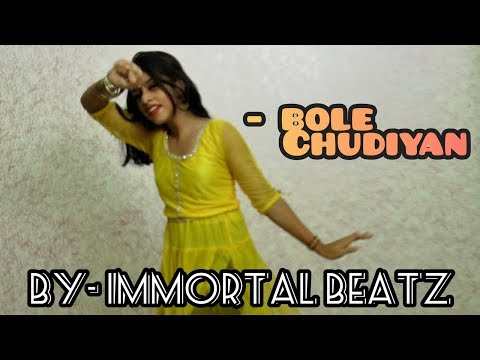 bole-chudiyan-||-kabhi-khusi-kabhie-gham-||--dance-cover...by--immortal-beatz