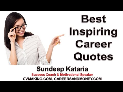 Motivating Inspiring Career Quotes