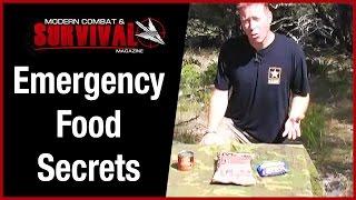 Emergency Food Secrets For Survival Kit