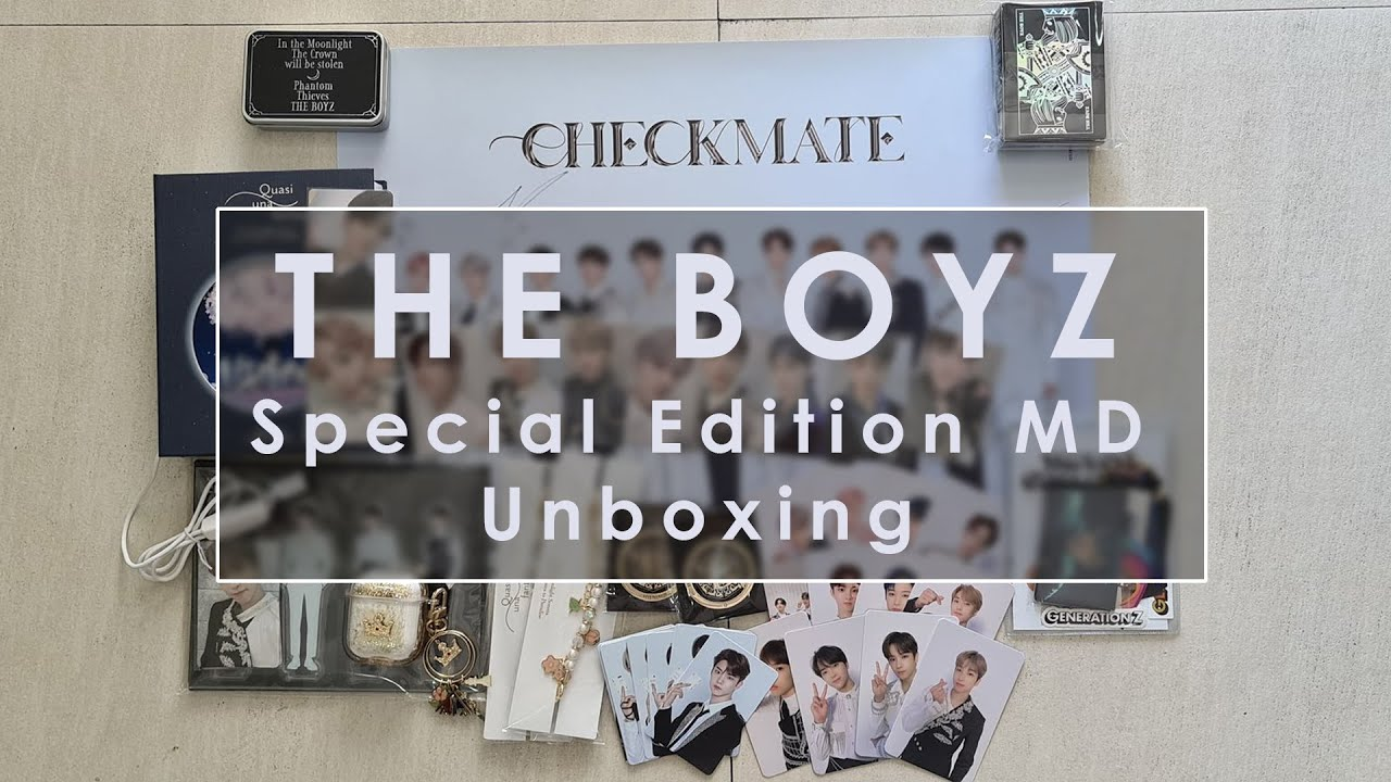 [UNBOXING] The Boyz - Special Edition MD