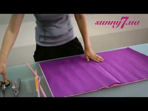 ПОМПОНЫ СВОИМИ РУКАМИ Как сделать коврик из помпонов