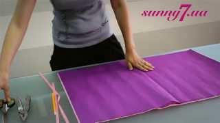 видео как сделать помпоны из гофрированной бумаги