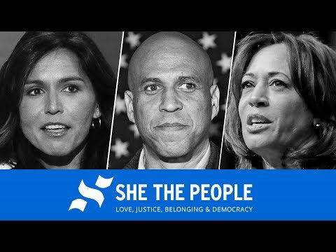 "Watch Live: Eight Democratic Presidential Candidates Speak At ""She The People"" Forum"