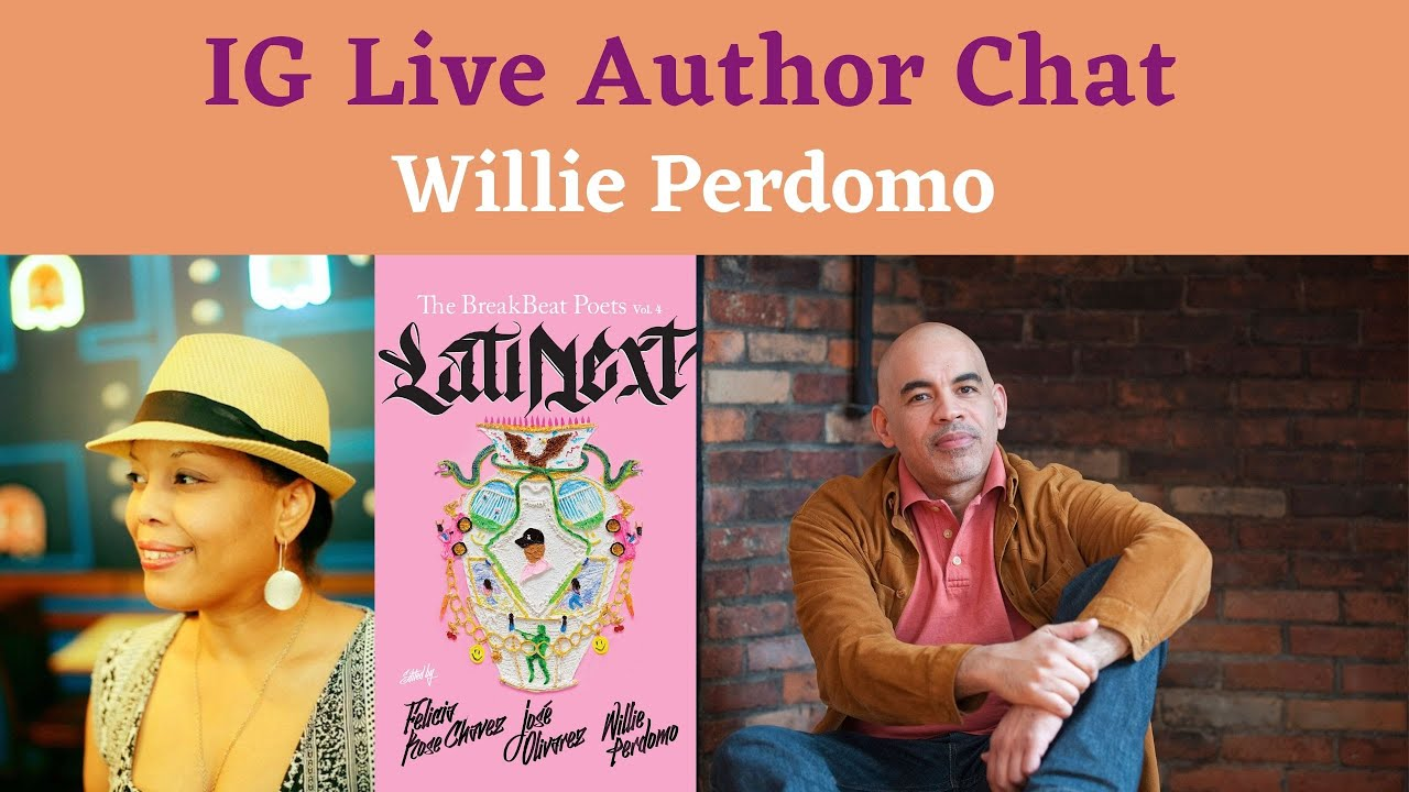 DuEwa Interviews Award Winning Poet Willie Perdomo