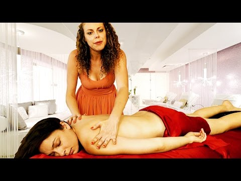 Luxurious ASMR Massage Spa Treatment – Binaural Ear to Ear Soft Spoken Relaxing Back Massage