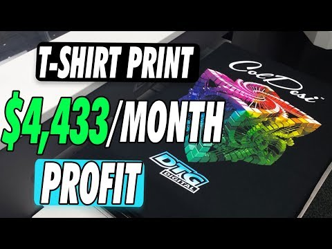 How To Start A T Shirt Printing Business Using Heat Press Transfer Paper