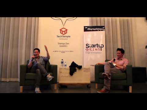 Eric Feng (Flipboard) at Startup Grind Beijing