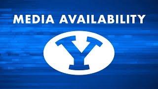 BYU Football - Media Availability - November 12, 2018