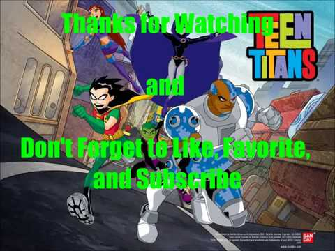 Teen Titans: All Characters