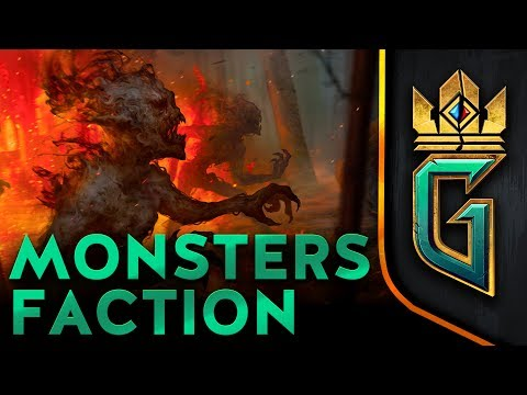 Monsters Faction || GWENT: The Witcher Card Game