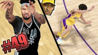 Scoring 90+ Points vs Lonzo Ball! Most Intense Game of the Season! NBA 2k18 MyCAREER Ep. 49