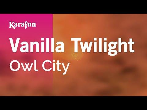 Karaoke Vanilla Twilight - Owl City *
