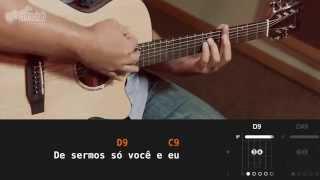 Como Um Anjo - César Menotti e Fabiano (aula de violão)