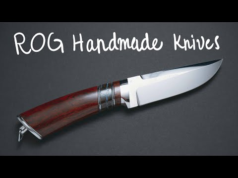 High Quality Handmade Fixed-Blade Knives | Available For Order!