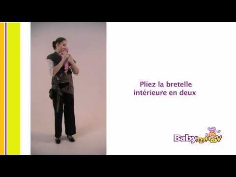 Porte-bébé écharpe Babymoov : Les Différents Modes De Portage