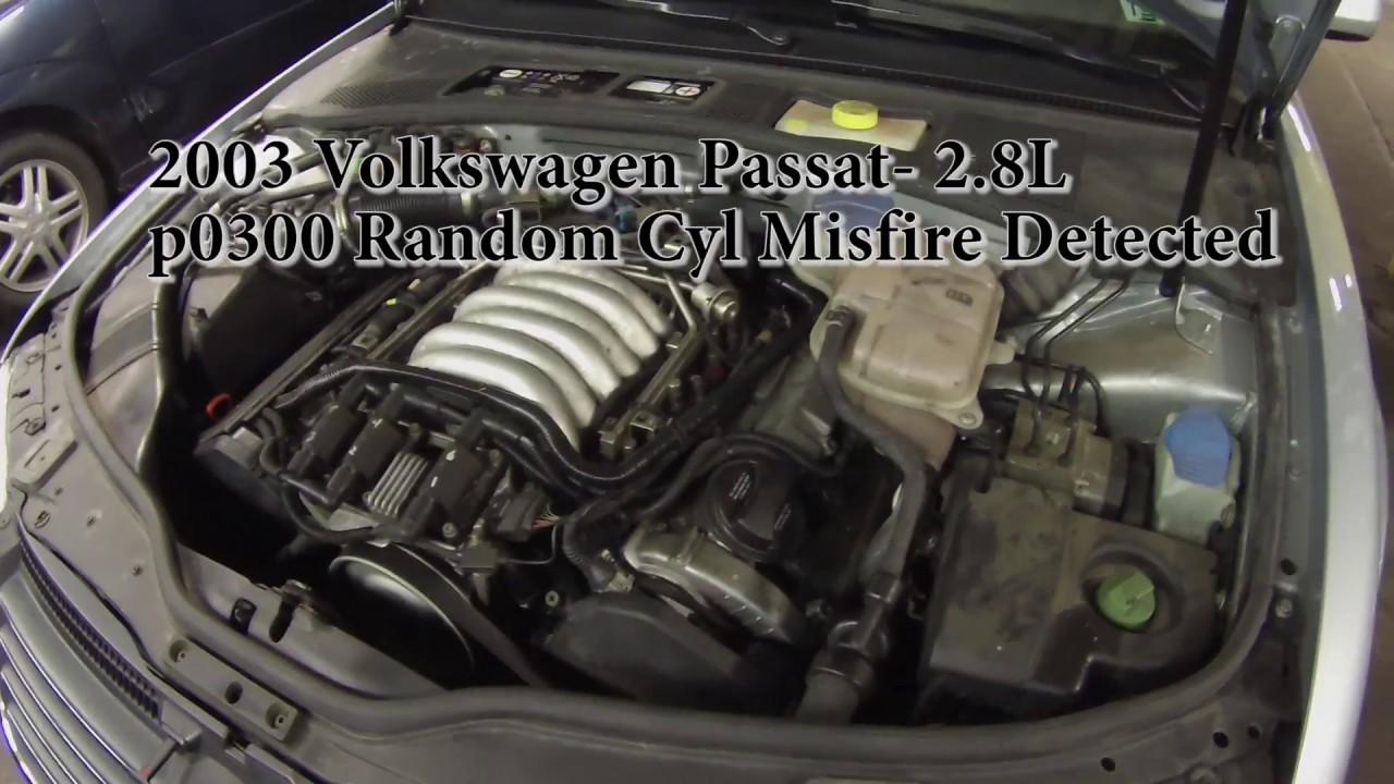 Amx Wiring Diagram 2003 Volkswagen Passat 2 8l P0300 Random Cyl Misfire