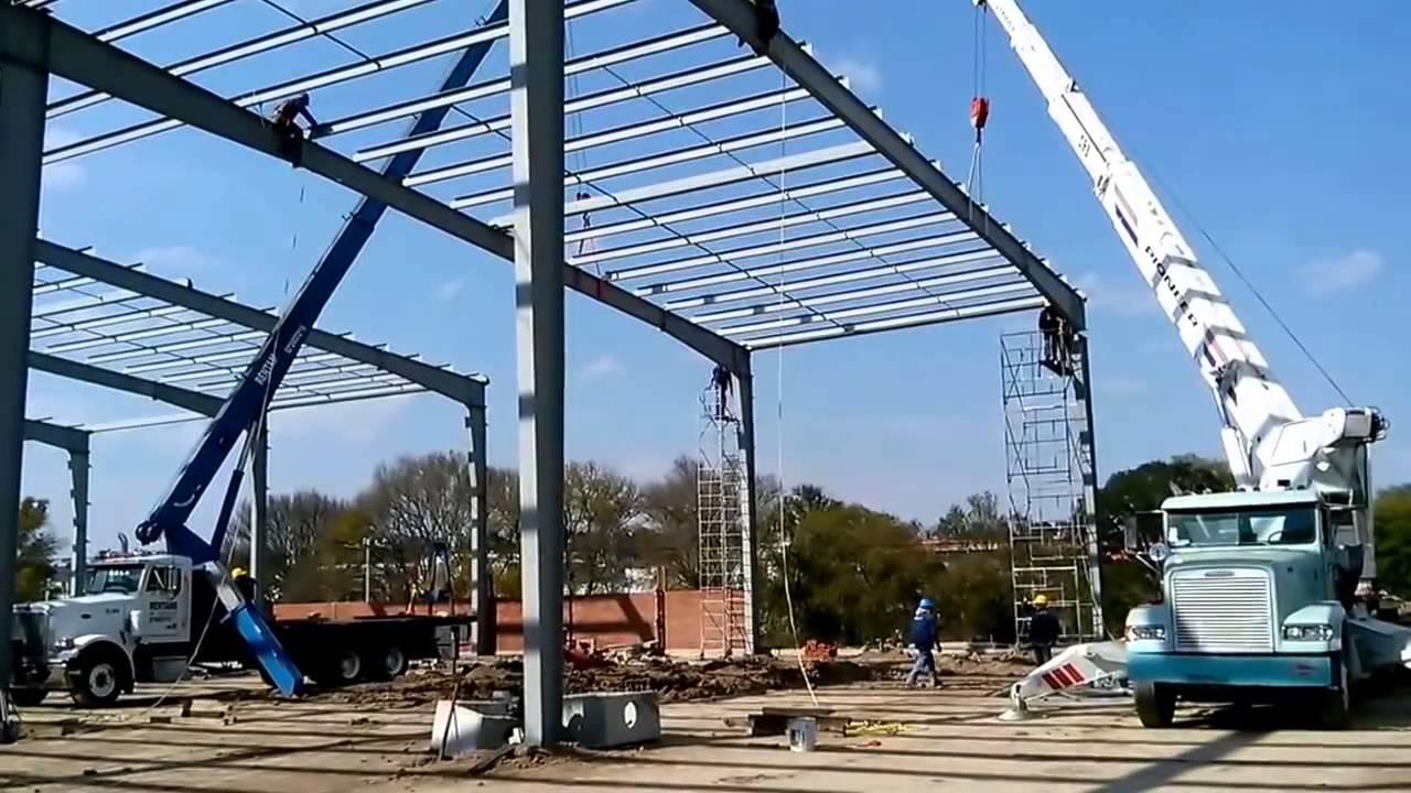 Fabricacion y montaje de estructuras metalicas youtube for Montaje de estanterias metalicas