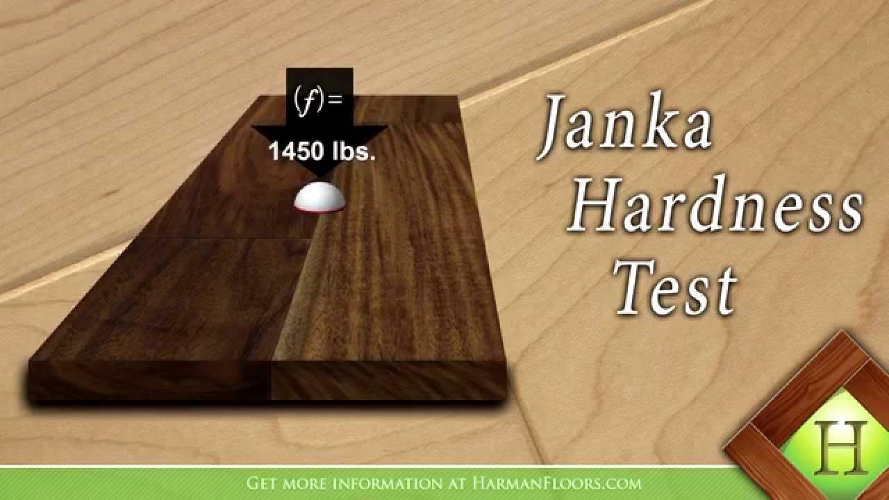 The Janka Hardness Test