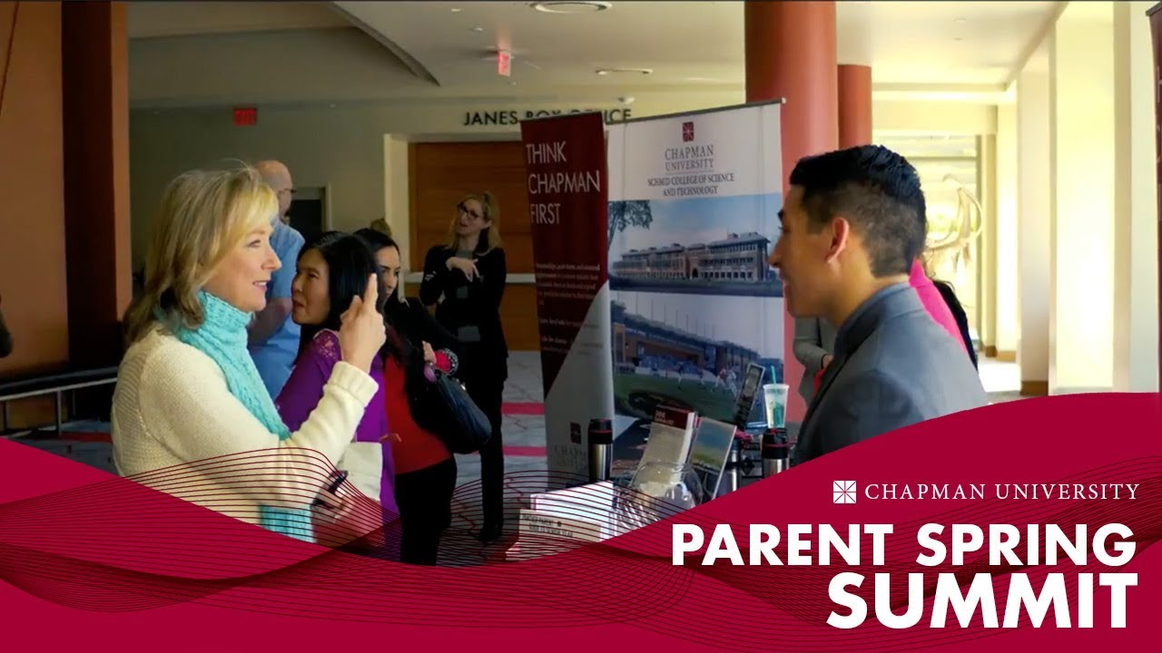 Parent Spring Summit | Families | Chapman University