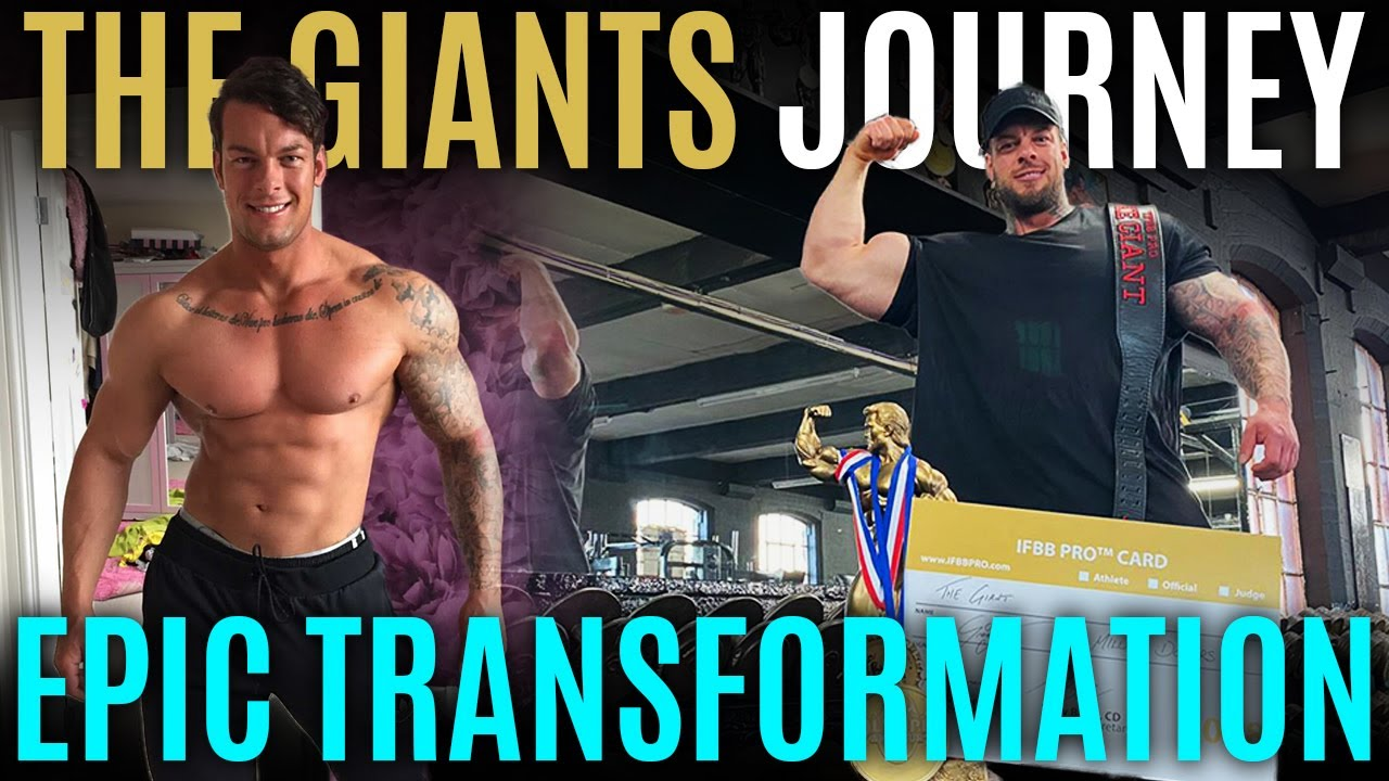 EPIC TRANSFORMATION // THE GIANTS JOURNEY // JAMIE 'THE GIANT' JOHAL