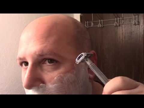 How To Shave Like A REAL Man With A REAL Razor!